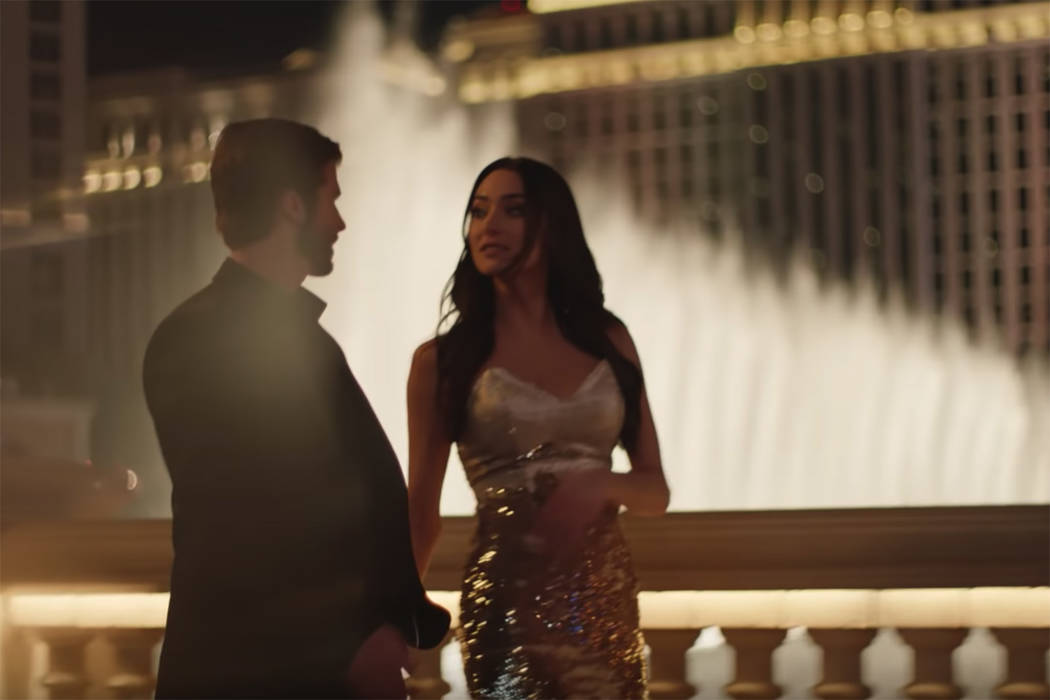 "A scene from a new LVCVA ad, ""The Anniversary."" (Visit Las Vegas/YouTube)"