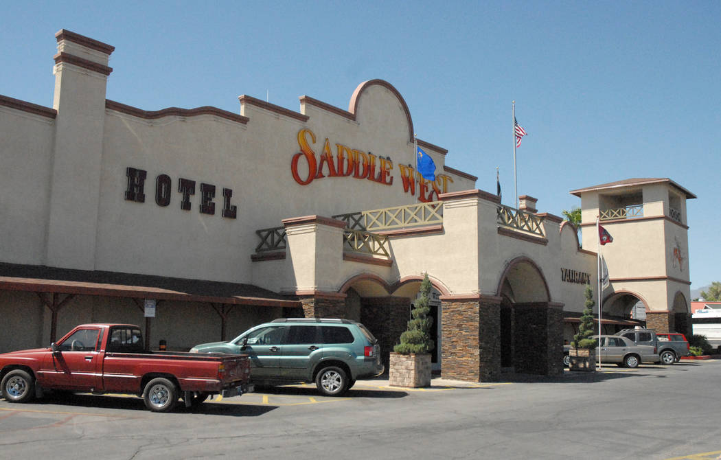 Saddle West Hotel and Casino Horace Langford Jr. / Pahrump Valley Times