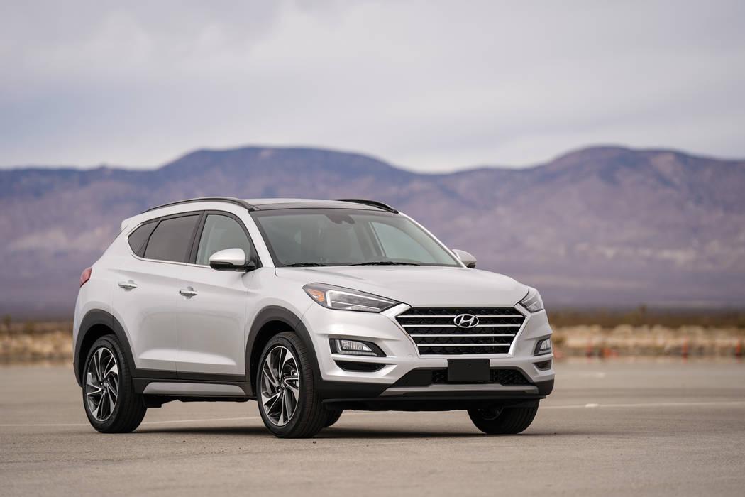 Hyundai The Tucson SUV is in demand at Hyundai of Las Vegas, 7150 W. Sahara Ave.