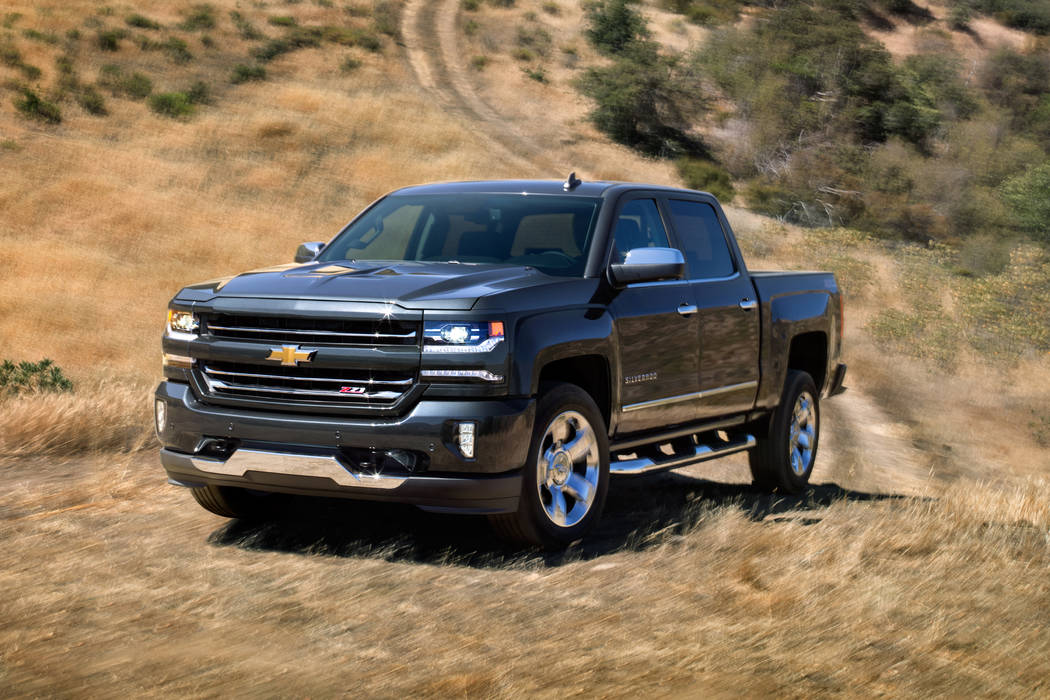 Chevrolet The Silverado is the top-selling vehicle at Ed Bozarth Chevrolet, 5501 Drexel Road.