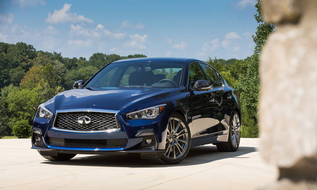 Infiniti The Q50 continues to be the most in-demand vehicle at Infiniti of Las Vegas, 5555 W. Sahara Ave.
