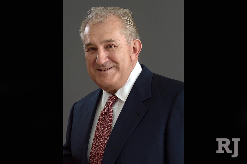Donald Louis Carano, founder of Eldorado Resorts Inc., (Elorado Resorts)