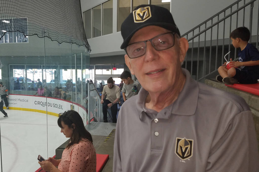 Las Vegas resident Arnold Schneider was a season-ticket holder for the expansion Washington Capitals, who finished 8-67-5 during the 1974-75 NHL season. (Ron Kantowski)