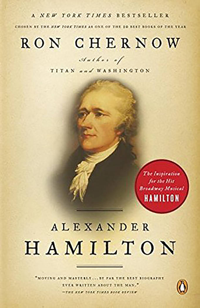 """Alexander Hamilton,"" historian and author Ron Chernow's biography of the Founding Father, was published in April 2004."