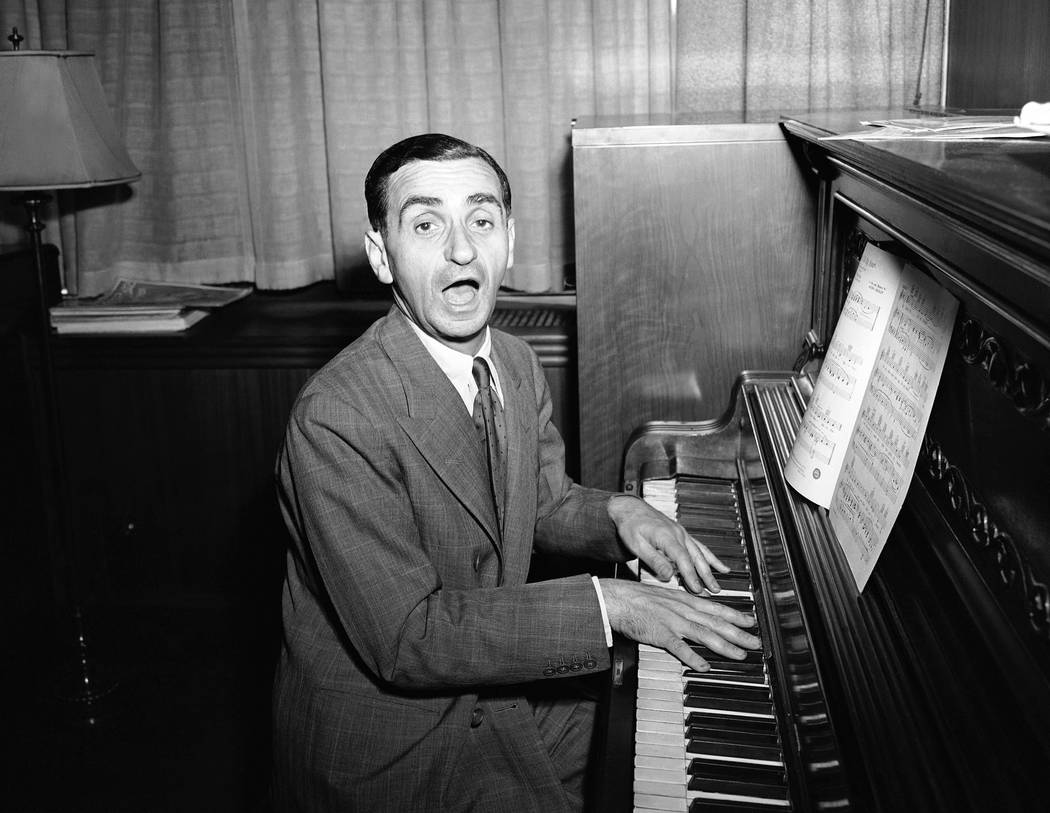 """Be Careful, It's My Heart,"" is the song Irving Berlin sings during an interview in Berlin's New York office, July 16, 1942. Besides appearing in the army relief show, ""This Is The ..."