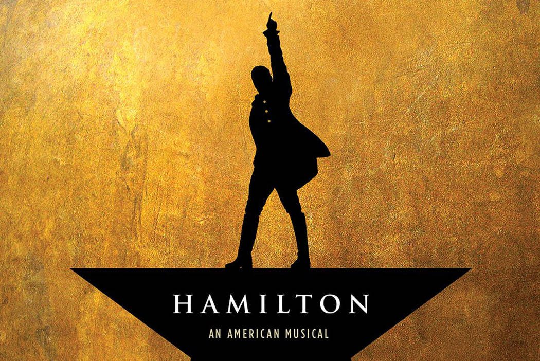 "Album cover of ""Hamilton: An American Musical"" (courtesy)"