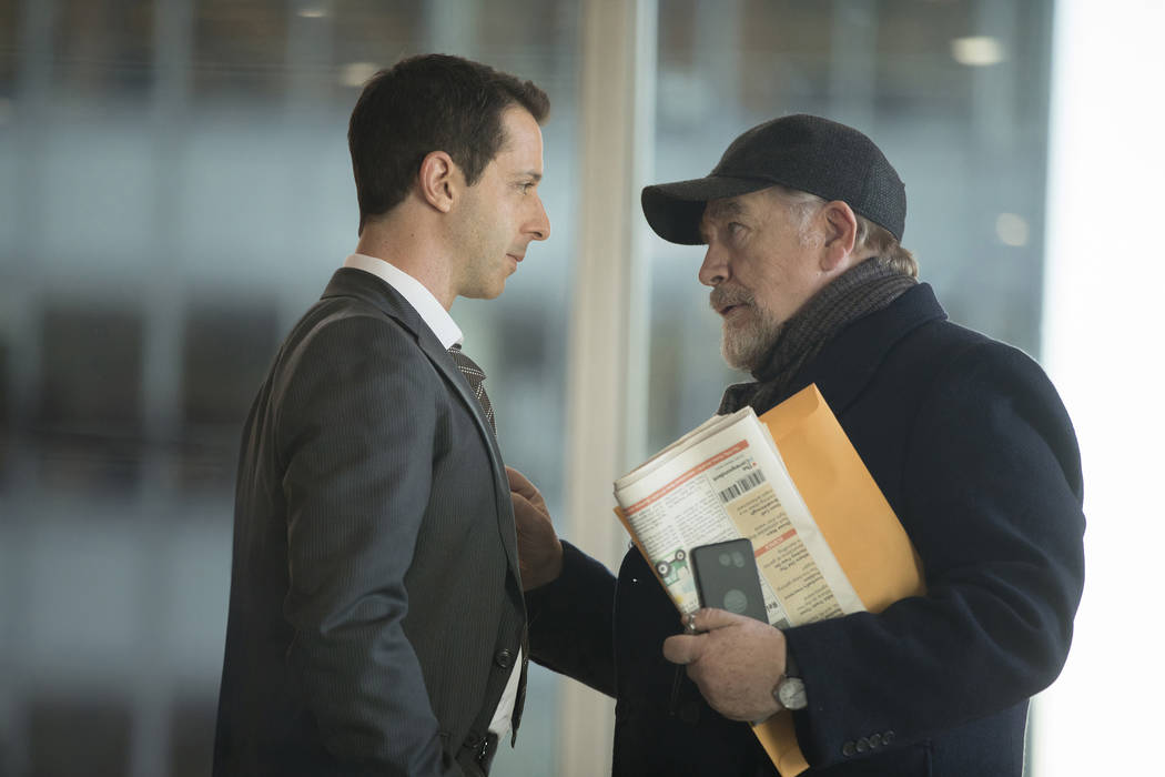 """Jeremy Strong and Brian Cox in """"Succession."""" (Craig Blankenhorn/HBO)"""