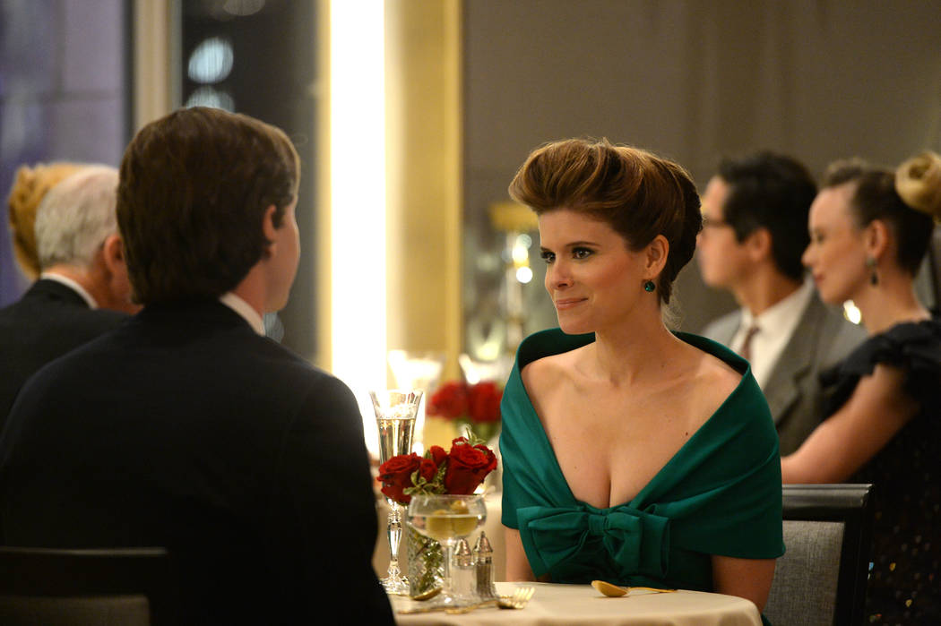 """Evan Peters and Kate Mara in """"Pose,"""" the latest from Ryan Murphy. (JoJo Whilden/FX)"""