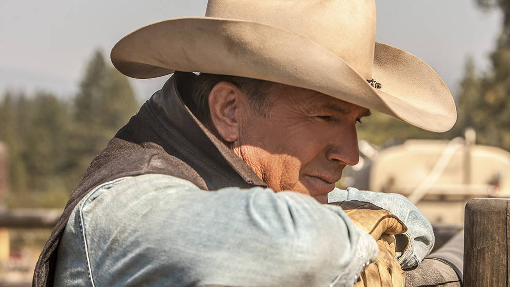 """Kevin Costner portrays the owner America's largest ranch in the new drama """"Yellowstone."""" (Paramount Network)"""