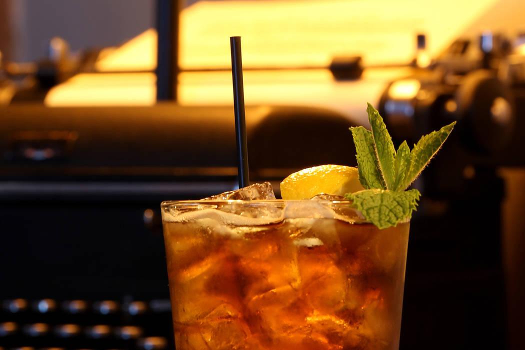 Mint Tea is shown at The MINT Tavern on Sahara Avenue near Las Vegas Boulevard Tuesday, May 22, 2018. K.M. Cannon Las Vegas Review-Journal @KMCannonPhoto