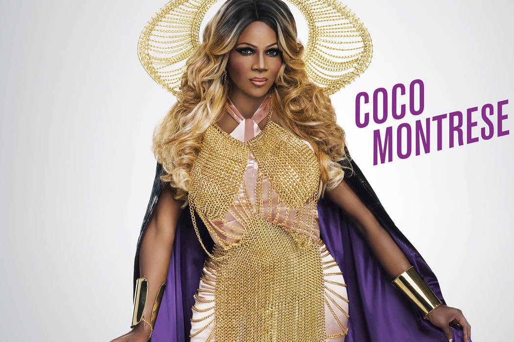 """Las Vegan Martin Cooper competes as Coco Montrese on """"RuPaul's Drag Race All-Stars."""" (Courtesy Logo)"""