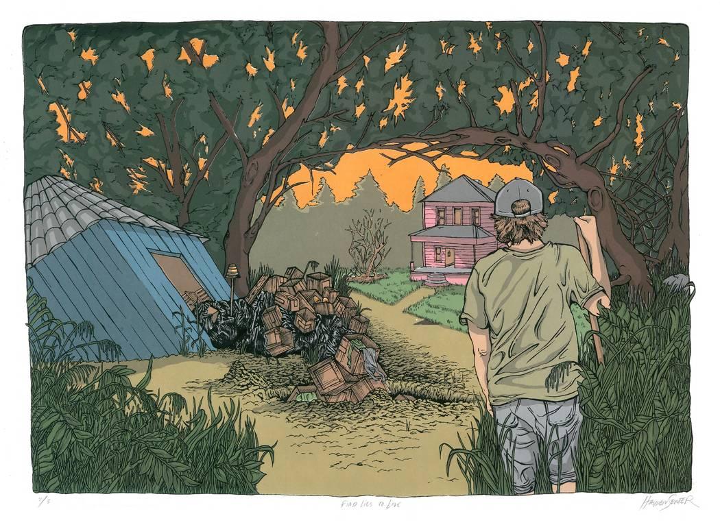 """""""Find Lies to Live"""" by Hayden Senter"""