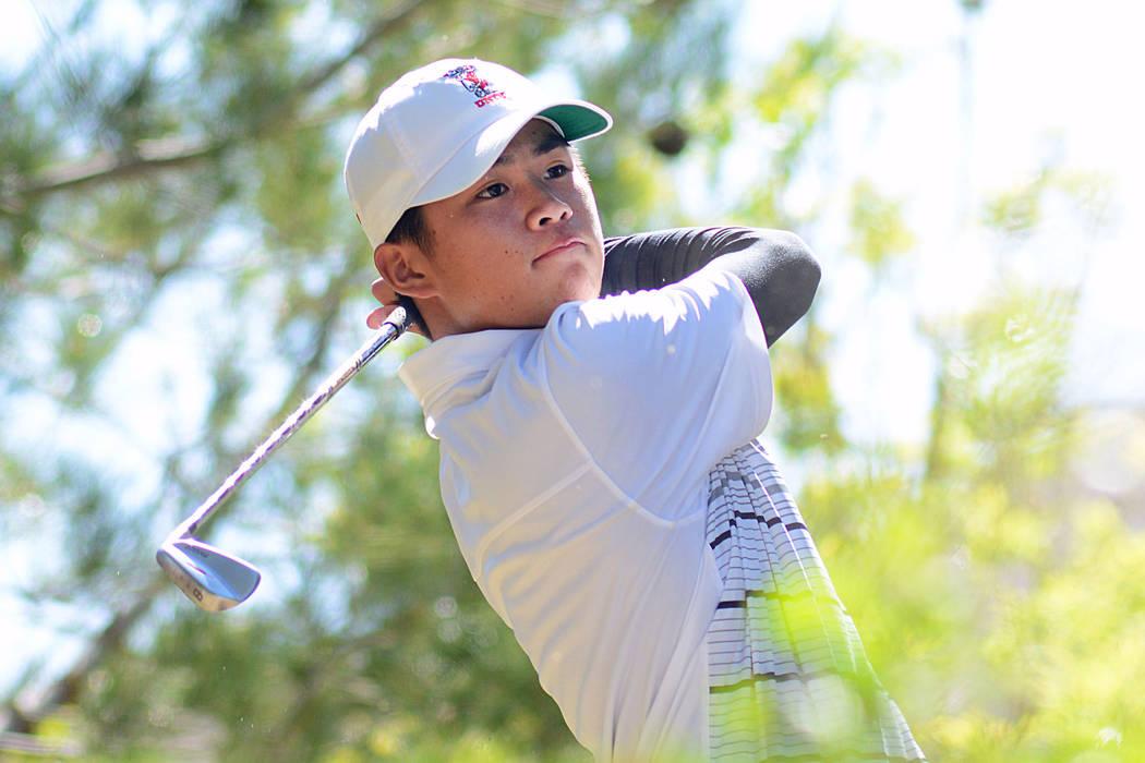 UNLV golfer Shintaro Ban. (Courtesy/UNLV)