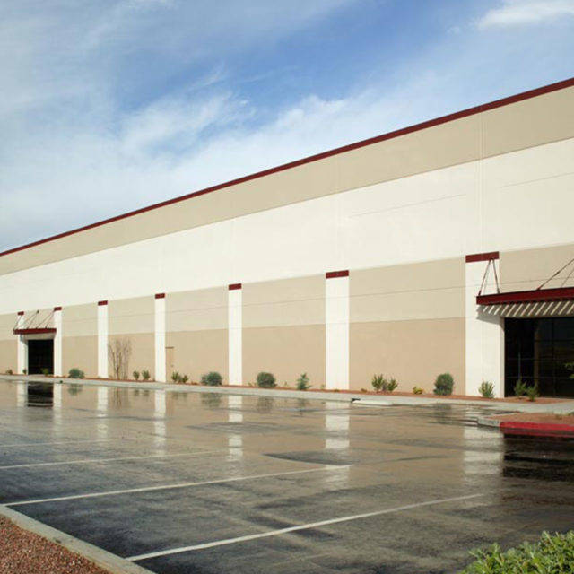 Matter Logistics Center @ Craig, a 155,000-square-foot development in North Las Vegas, is one of four developments being developed by Matter Real Estate Group. (Matter Real Estate Group)