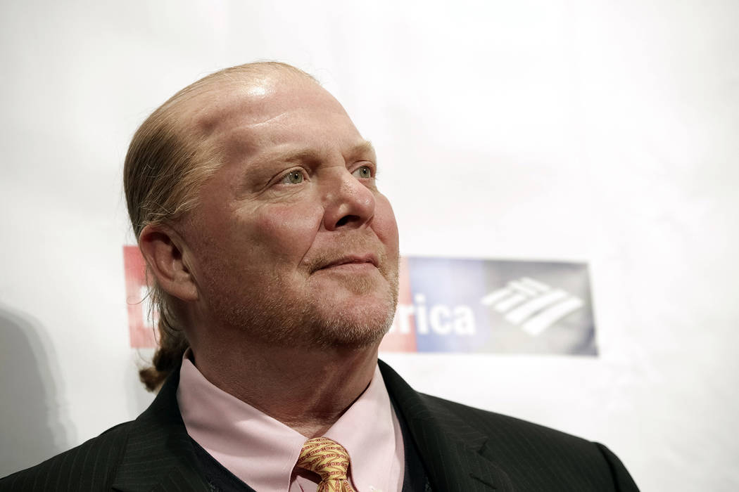 In this Wednesday, April 19, 2017, file photo, chef Mario Batali attends an awards event in New York. (Photo by Brent N. Clarke/Invision/AP, File)