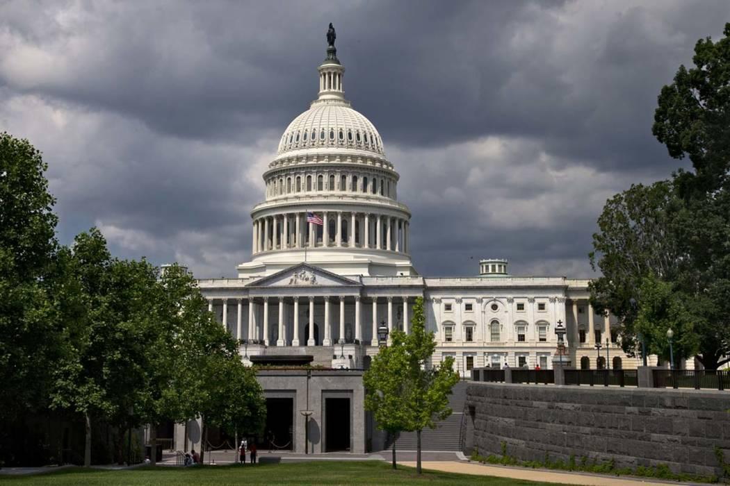 The U.S. Capitol is seen in Washington in 2013. (AP Photo/J. Scott Applewhite)