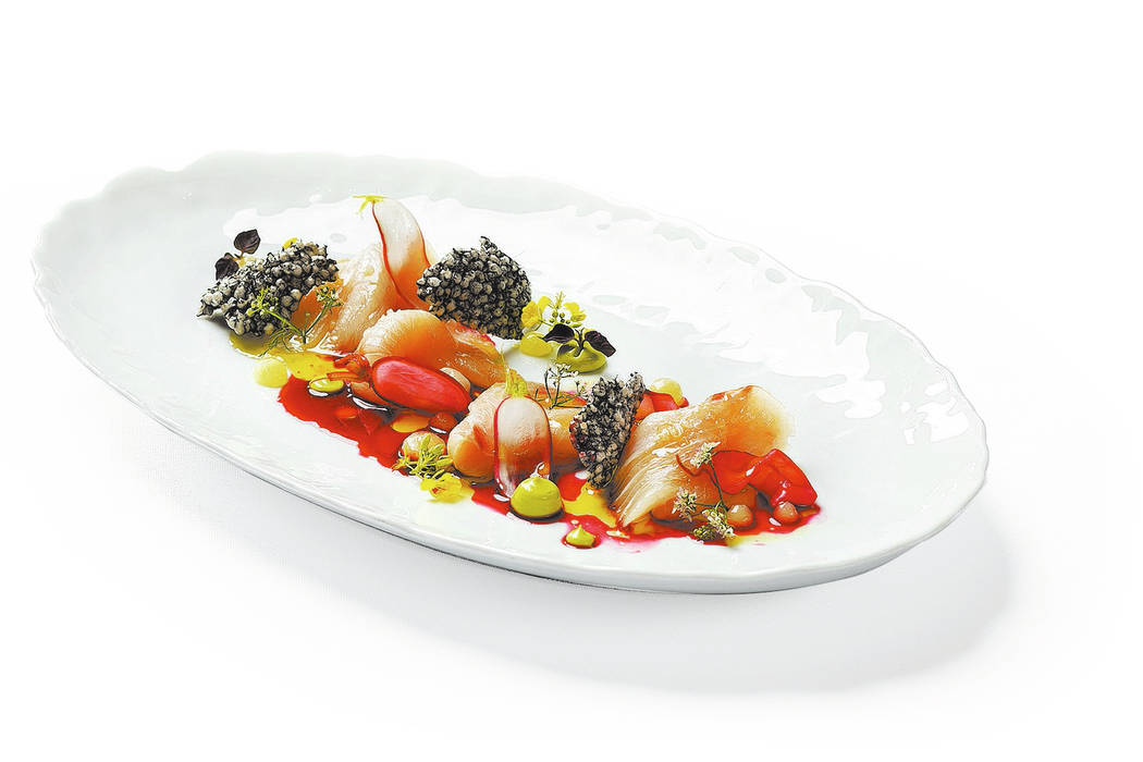 Campachi crudo will be among the offerings at the new Spago location.