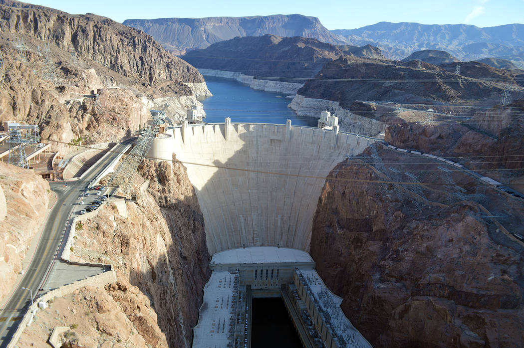 Hoover Dam. (Celia Shortt Goodyear/Boulder City Review)