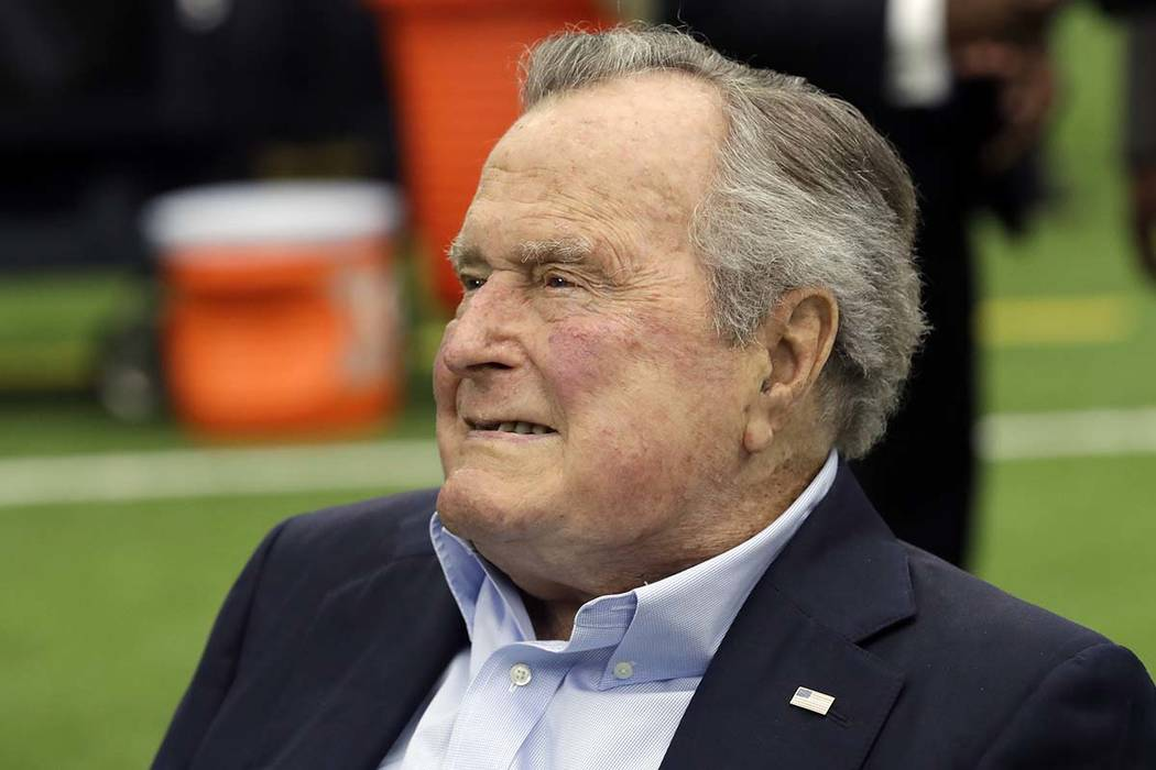 Former president George H.W. Bush, 93, has been hospitalized for low blood pressure and fatigue. Spokesman Jim McGrath tweeted just after 2 p.m. Sunday, May 27, 2018, that Bush will likely remain ...
