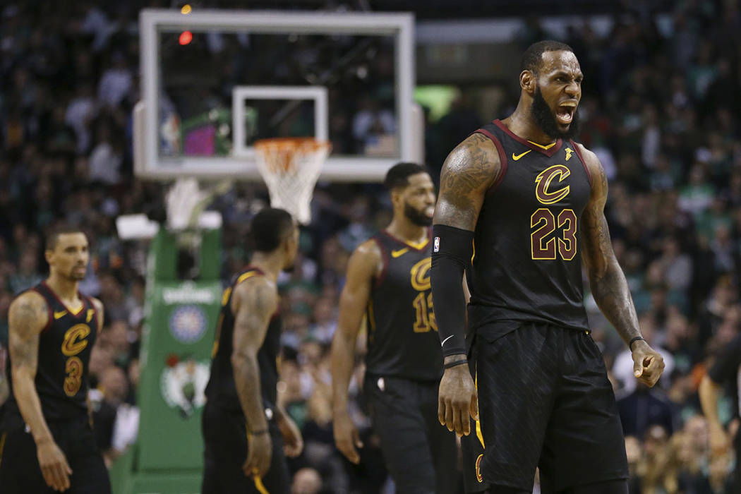 7e58945ab32 LeBron scores 35 as Cavaliers reach NBA Finals again