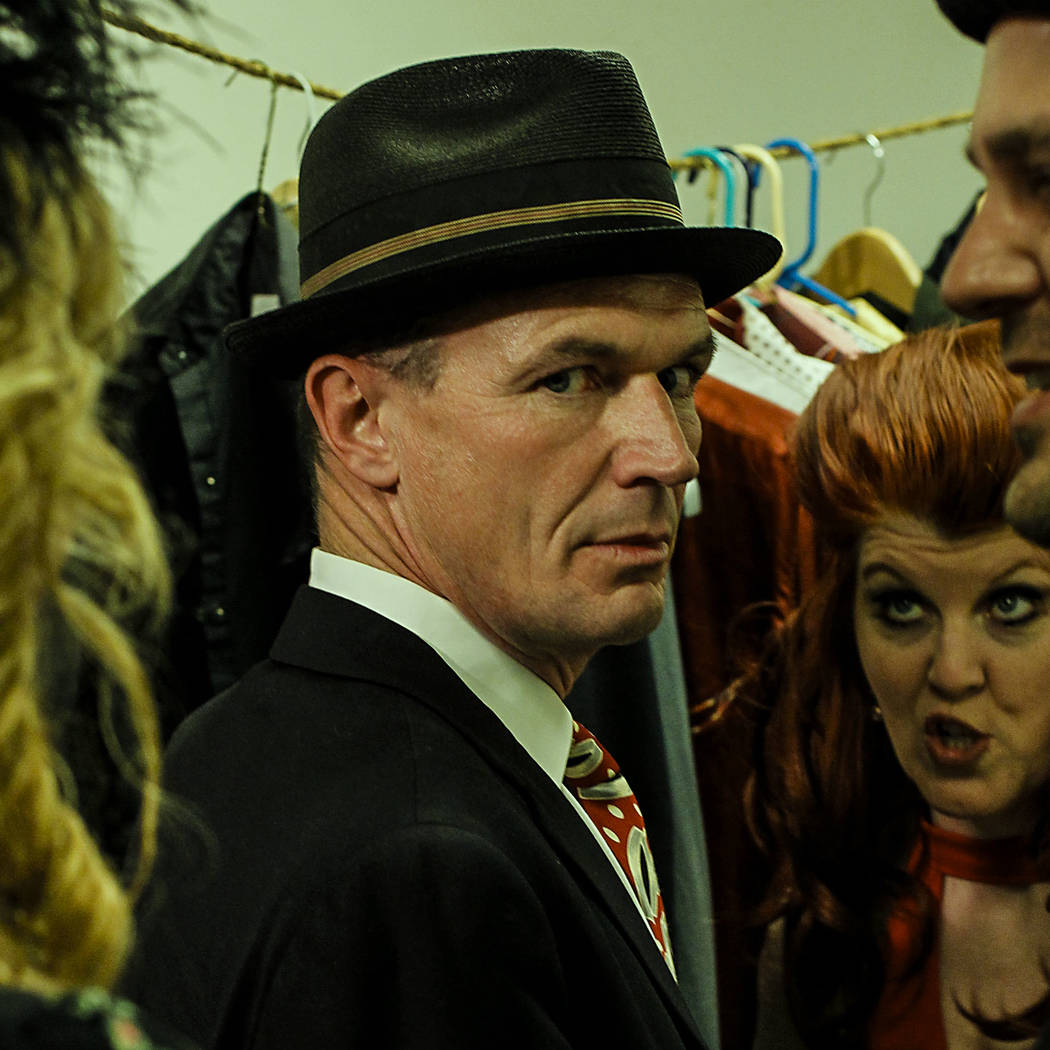"Toby Huss stars in ""The Rudy Casoni Boozebag Revue,"" which combines standards and punk covers with a swing band. (Las Vegas Film Festival)"
