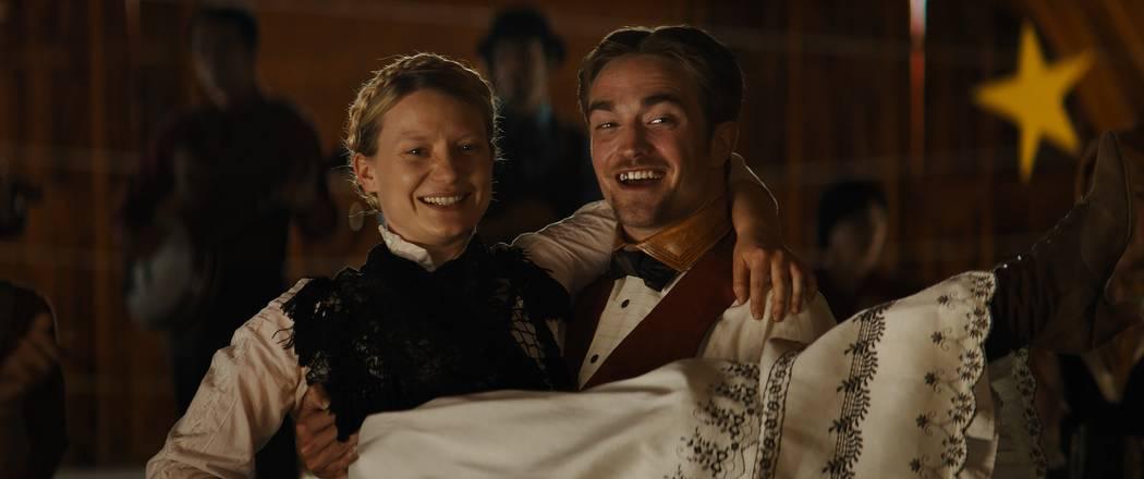 "Mia Wasikowska and Robert Pattinson star in ""Damsel."" (Las Vegas Film Festival)"