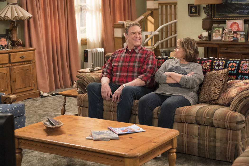 "ROSEANNE - ""No Country for Old Women"" - After Beverly gets kicked out of the nursing home, Roseanne and Jackie fight over who will take care of their mother. Meanwhile, Mark's creative t ..."