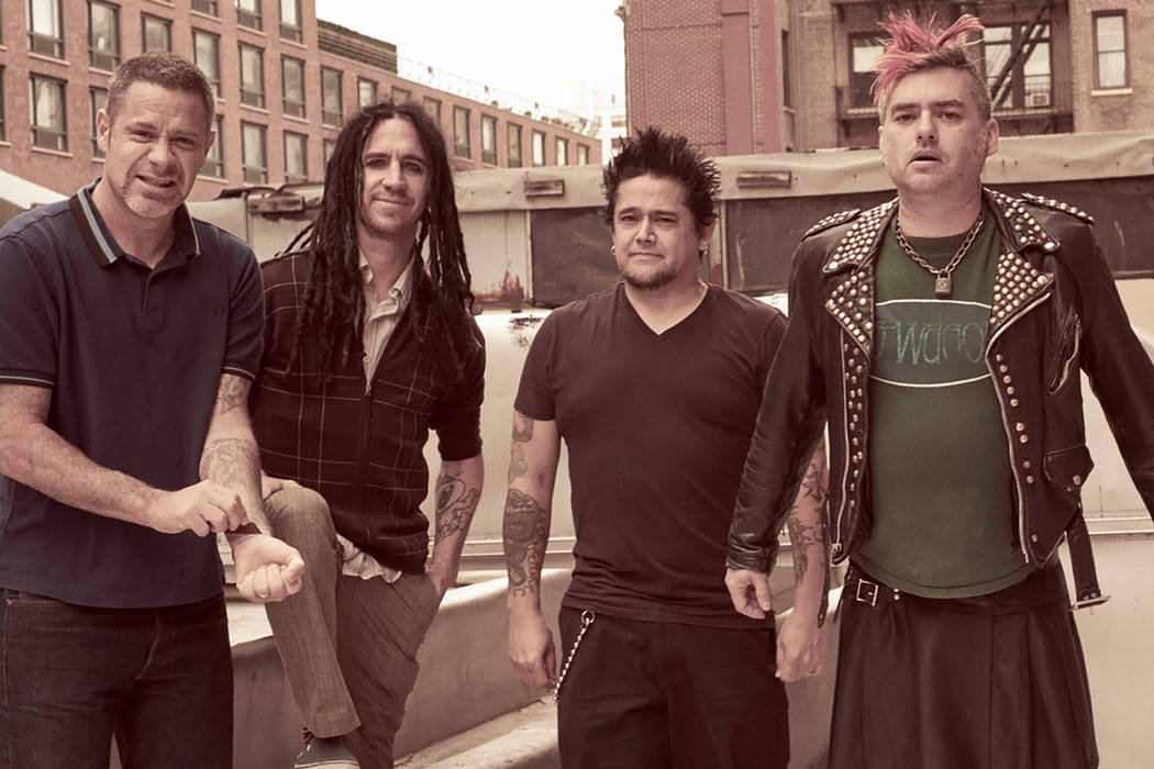 Fat Mike, right, and NOFX (Punk Rock Bowling)