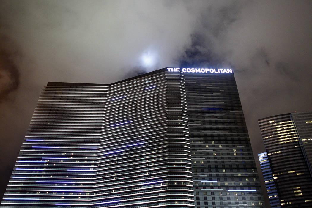 The Cosmopolitan is seen in Las Vegas Saturday, Nov. 28, 2010. (John Locher/Las Vegas Review-Journal)