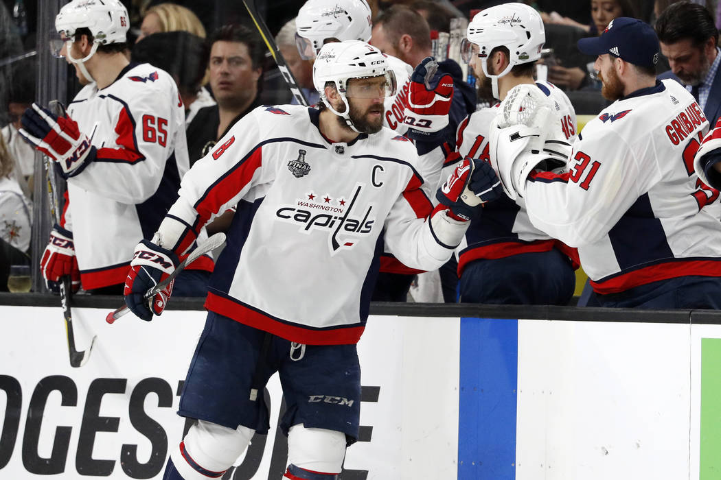 Ovechkin Embraces Intangibles As He Leads Capitals Past Knights
