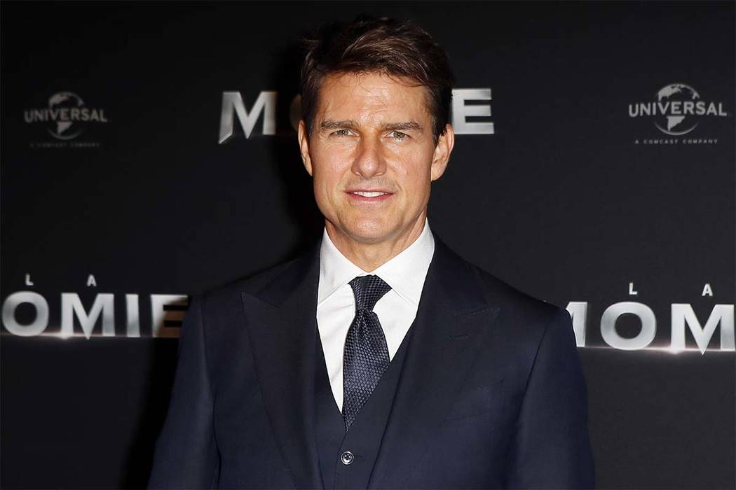 "Tom Cruise poses during a photocall for the French premiere of ""The Mummy"" in Paris, France. (Francois Mori/AP file)"