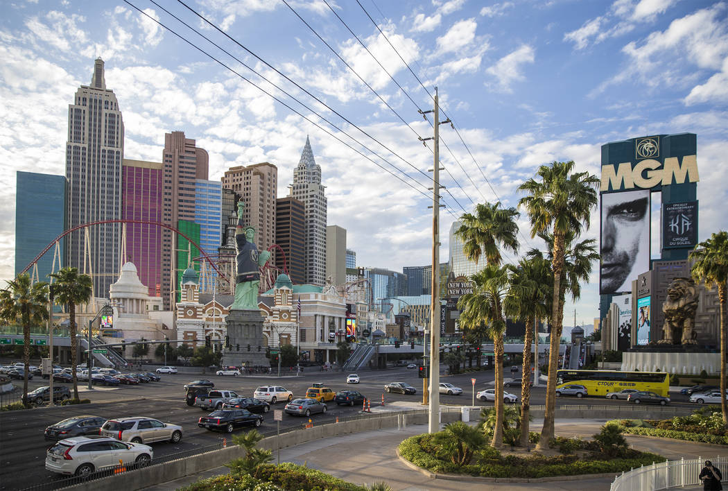 The Las Vegas Strip (Benjamin Hager/Las Vegas Review-Journal) @benjaminhphoto