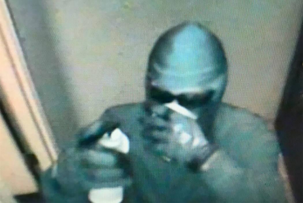 Suspect in Crazy Horse III robbery (Las Vegas Metropolitan Police Department)