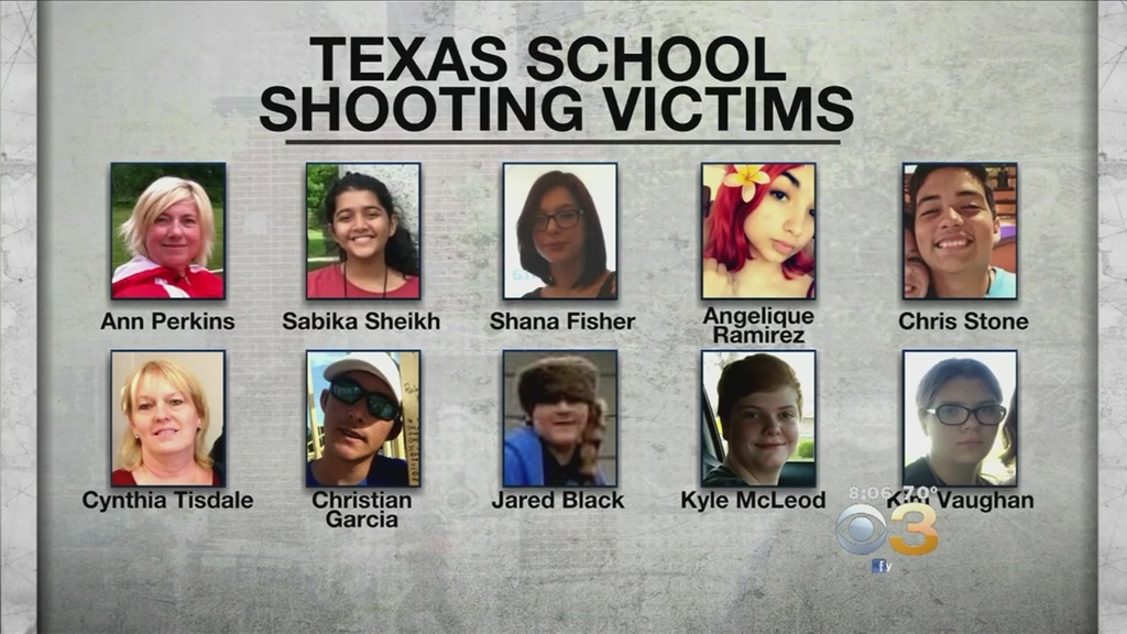 Texas School Shooting Victims Remembered For Optimism