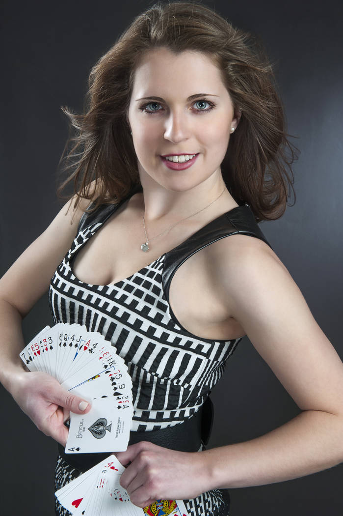 Magician Jen Kramer performs weekly at the Westgate Las Vegas. (Phelston Photography)