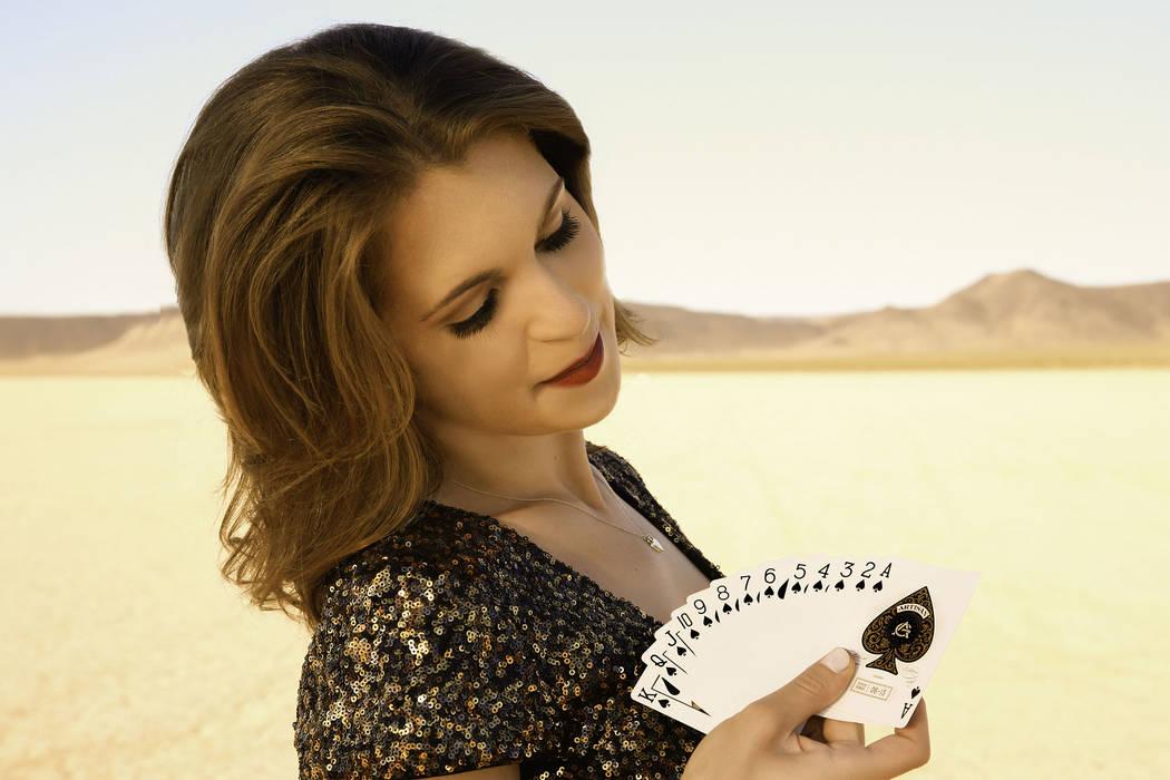 Magician Jen Kramer performs weekly at the Westgate Las Vegas. (Richard Faverty)