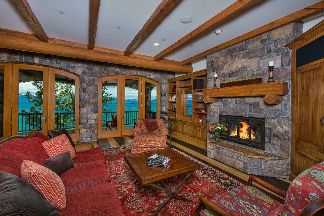 This 5,385-square-foot home has Old World charm. (Oliver Luxury Real Estate)