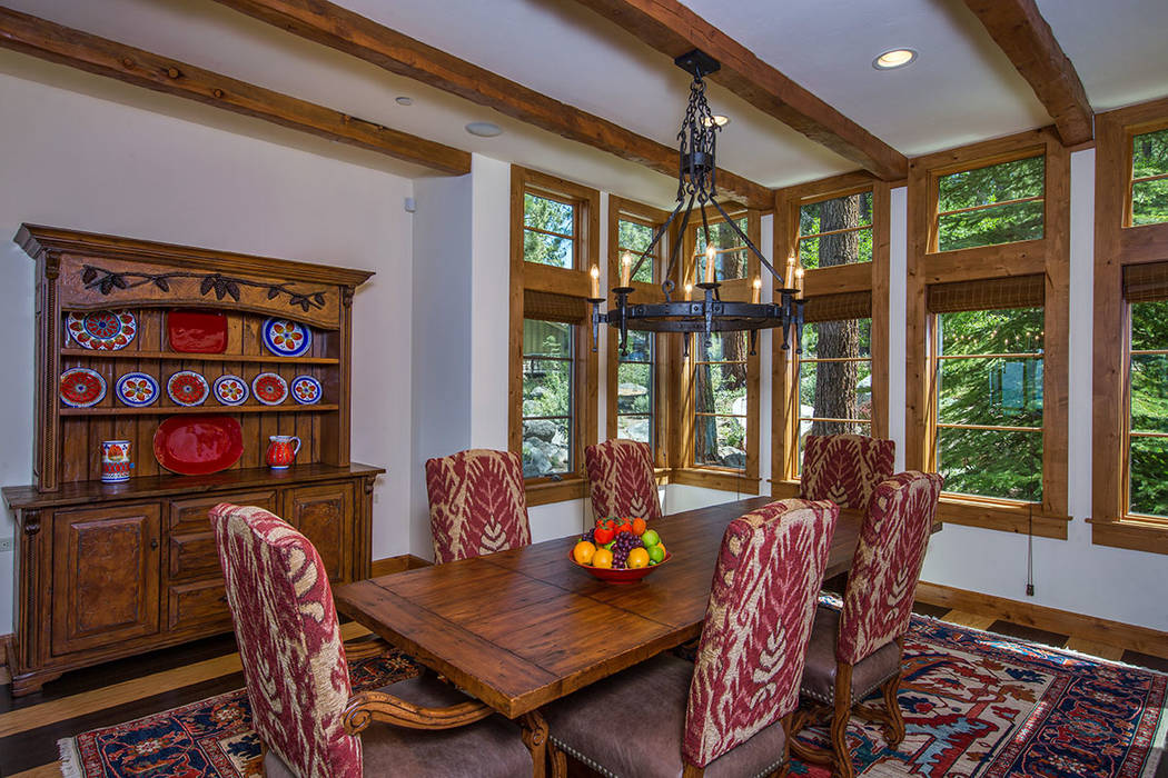 The dining room. (Oliver Luxury Real Estate)