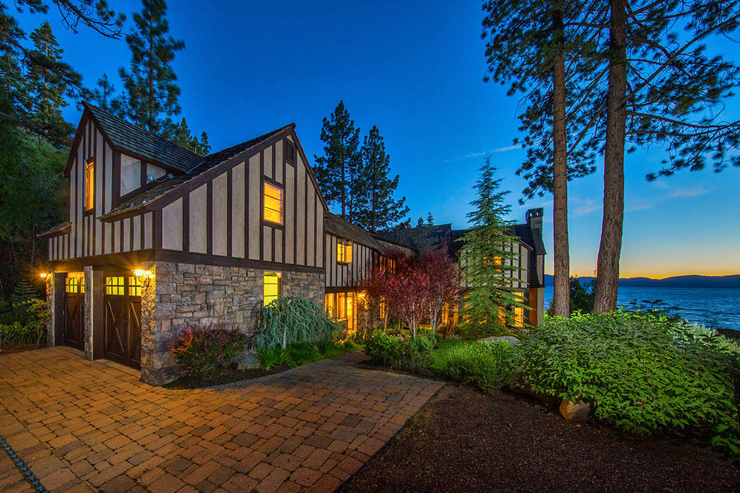 The home sits on Lake Tahoe. (Oliver Luxury Real Estate)