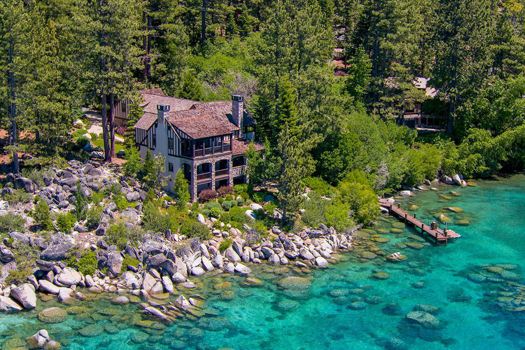 Stone Creek sits on 1.62 acres and has 174-feet of lakefront. (Oliver Luxury Real Estate)