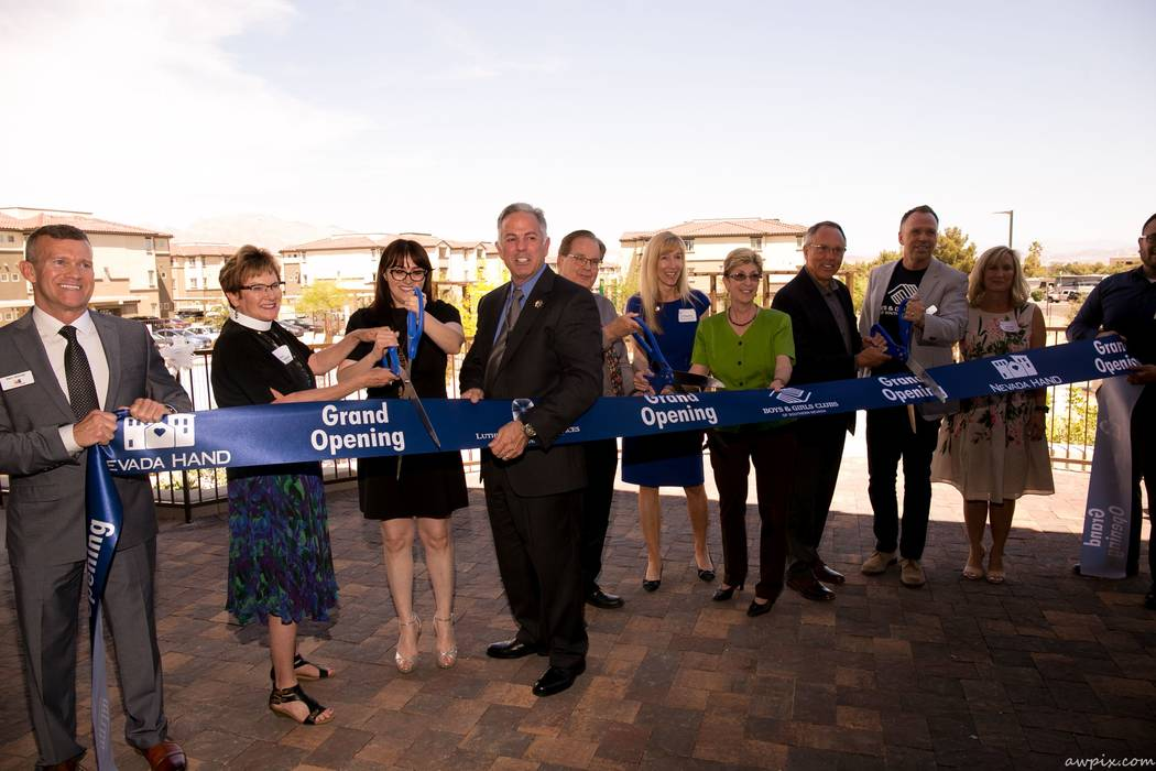 Grand opening festivities were held for the Boulder Highway Collaborative Campus, the first campus-style service partnership of its kind in Nevada that includes nonprofits Boys & Girls Clubs of So ...