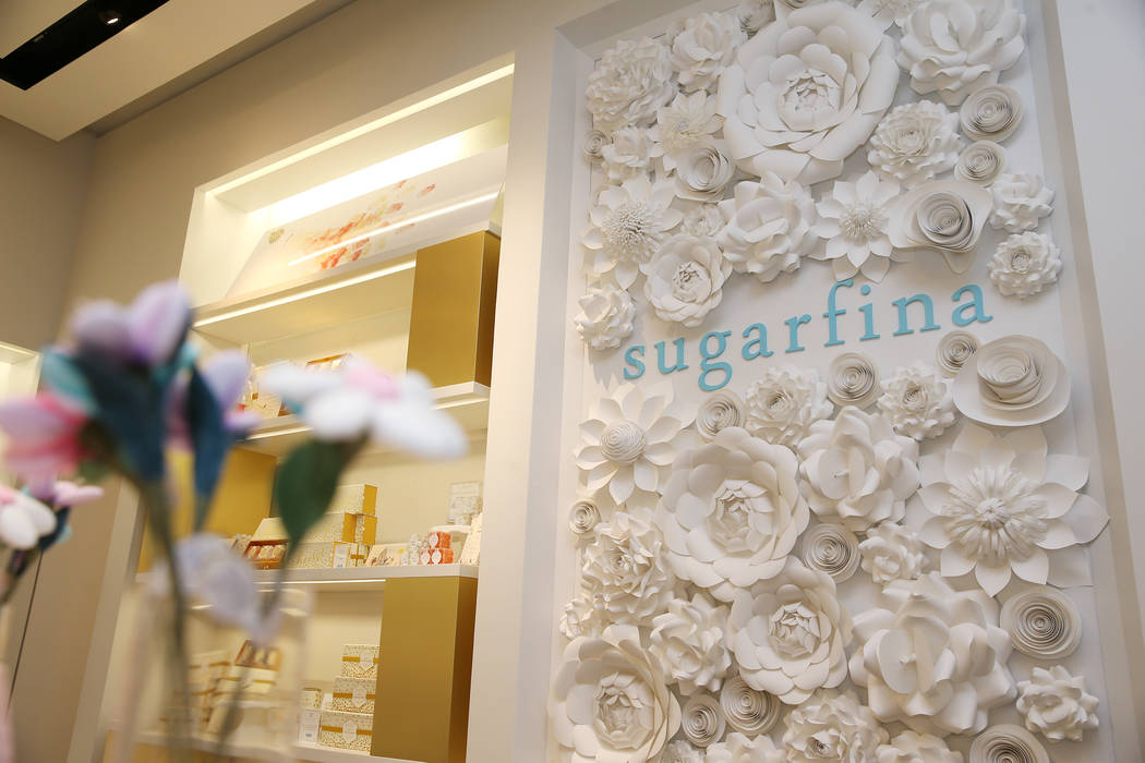 Sugarfina inside Fashion Show Mall in Las Vegas, Wednesday, May 23, 2018. Sugarfina opened its Las Vegas location in April. Erik Verduzco Las Vegas Review-Journal @Erik_Verduzco