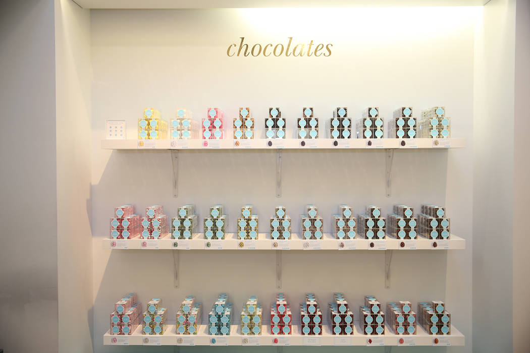 Chocolate at Sugarfina inside Fashion Show Mall in Las Vegas, Wednesday, May 23, 2018. Sugarfina opened its Las Vegas location in April. Erik Verduzco Las Vegas Review-Journal @Erik_Verduzco