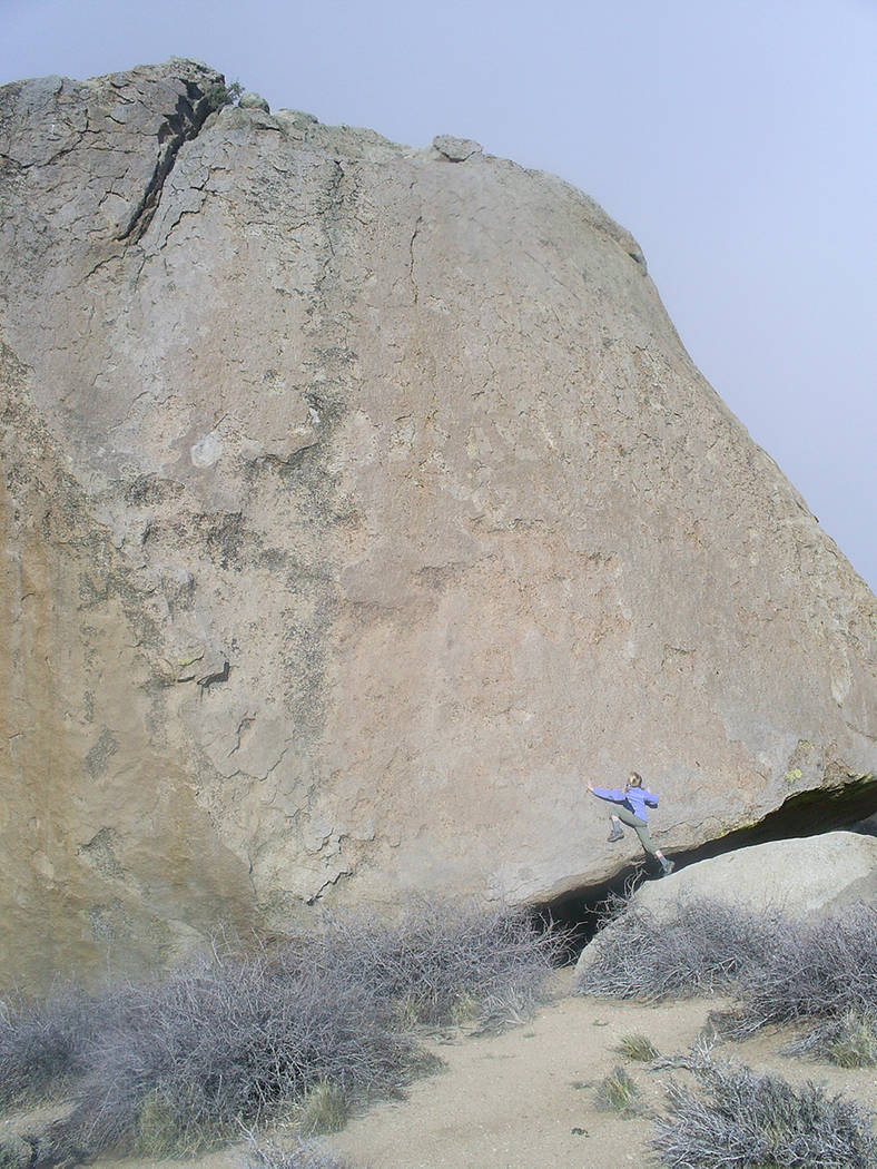 The Buttermilks in California are just 10 minutes west of town off of Bishop Creek Road. (Deborah Wall/Special to View)