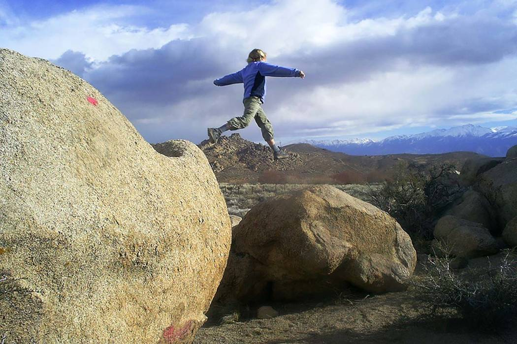 The granite formation of the Buttermilks near Bishop, California, are a top destination for visitors, whether they come to do some serious bouldering or just to explore and have fun. (Deborah Wall ...