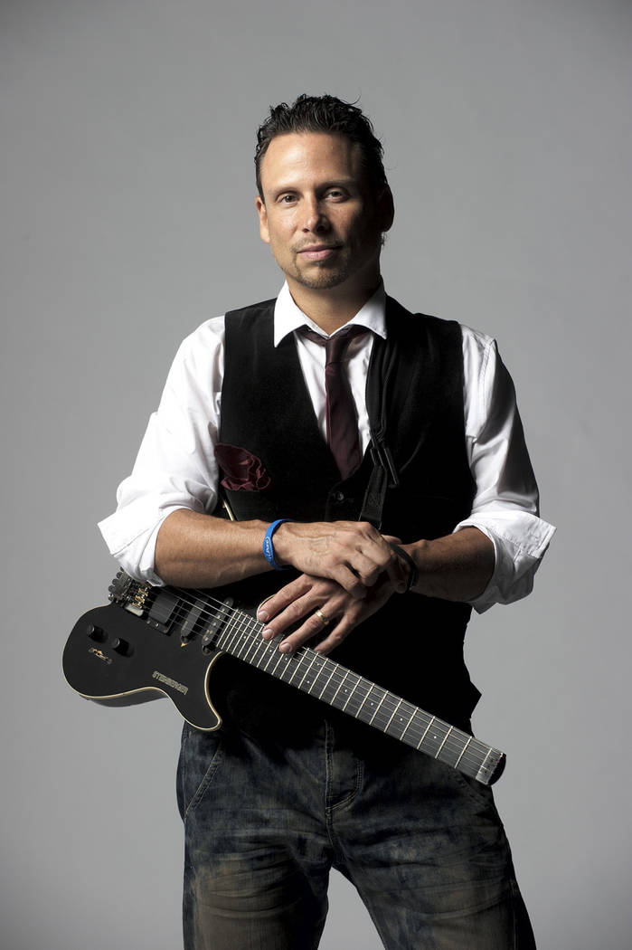 Guitarist JJ Sansaverino will perform as part of the Groove Project June 2 at the Clark County Amphitheater's free Jazz in the Park series. (Clark County)