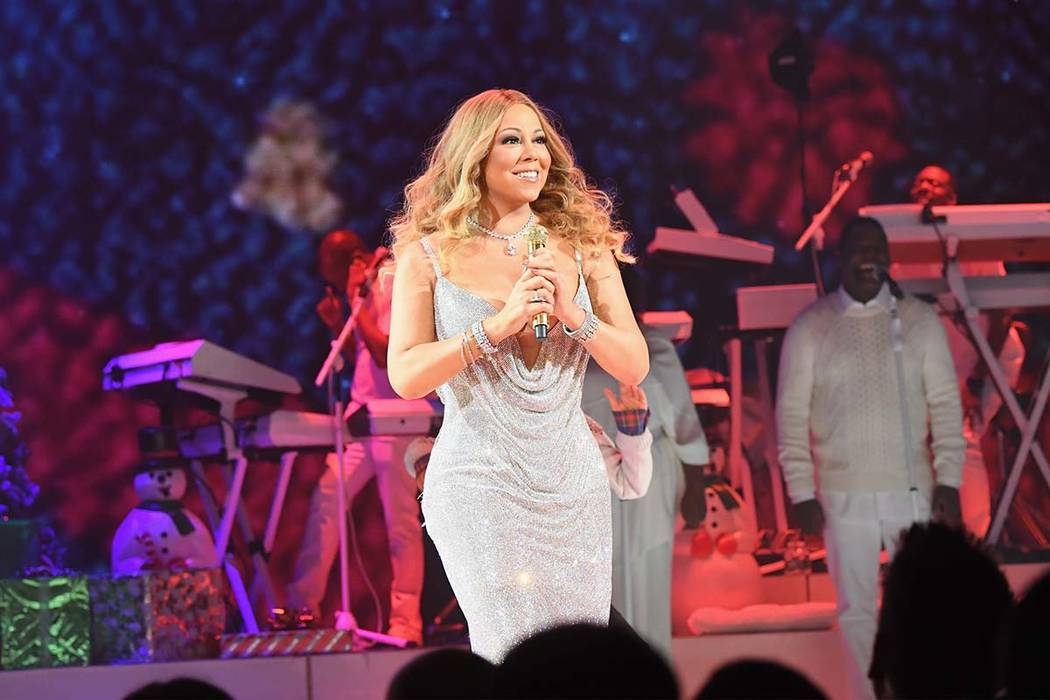 Mariah Carey performs during the opening show of Mariah Carey: All I Want For Christmas Is You at Beacon Theatre on December 5, 2016 in New York City. (Photo by Jeff Kravitz/FilmMagic for Mariah ...