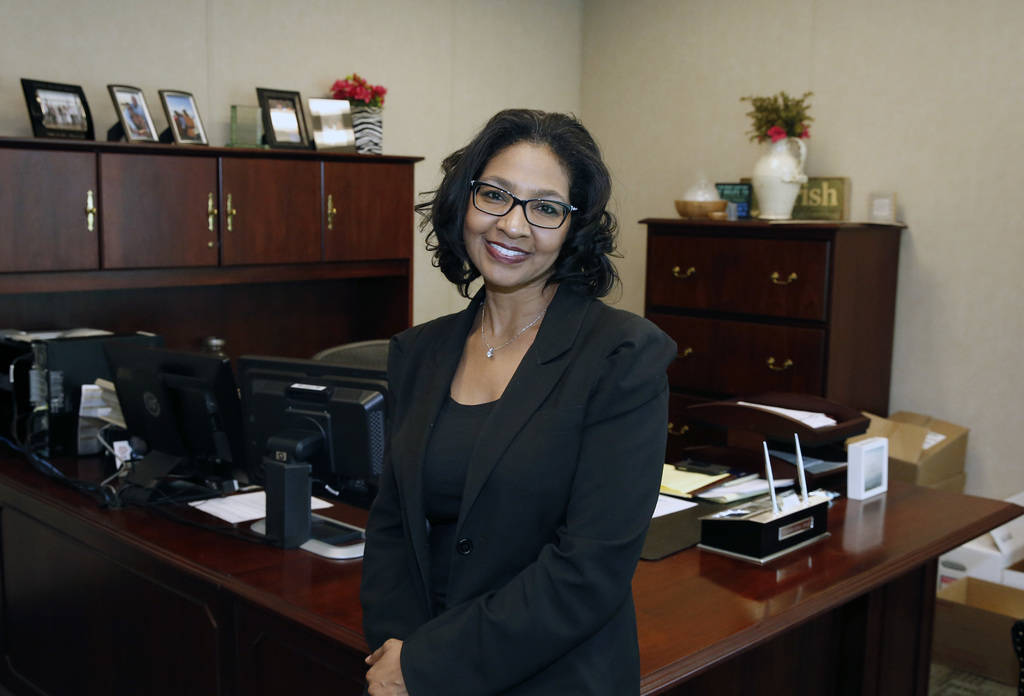Lisa Hank is the director of Las Vegas Metropolitan Police Department's Records and Fingerprint Bureau. Metro is among those to be honored at the Heroes With Heart Gala, a fundraising event by Tr ...