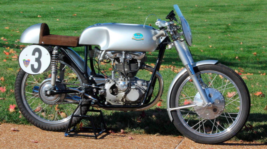 Mecum This 1956 Mondial F2 is an extremely rare example of a post-war racing motorcycle. It will be auctioned off at this weekend's Mecum Motorcycle Auction.