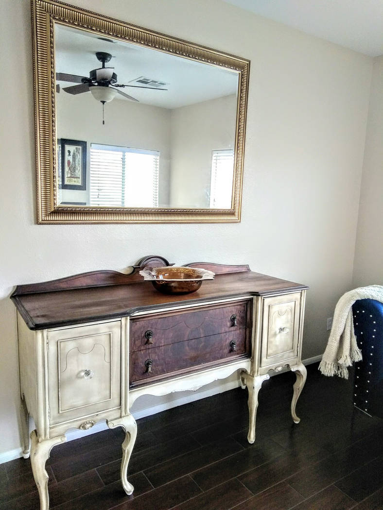 Fontella Interior Design and Home Staging Patricia Hansen of Fontella Interior Design and Home Staging restored this buffet.